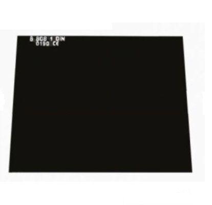 90 x 110mm č. 12 - tmavé sklo svařovací