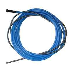 bowden 3,4m Binzel - modrý, pro drát 0,8 a 1,0mm, 1,5 x 4,5mm, 124.0011