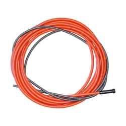 Bowden 4,4m Binzel - červený, pro drát 1,0 a 1,2mm, 124.0031
