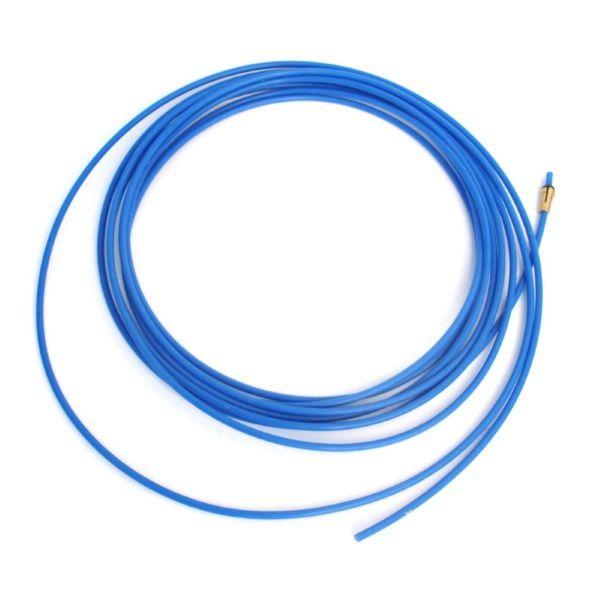 bowden 4,4m Binzel - modrý (teflon), vnitřní průměr 1,5mm, 126.0008