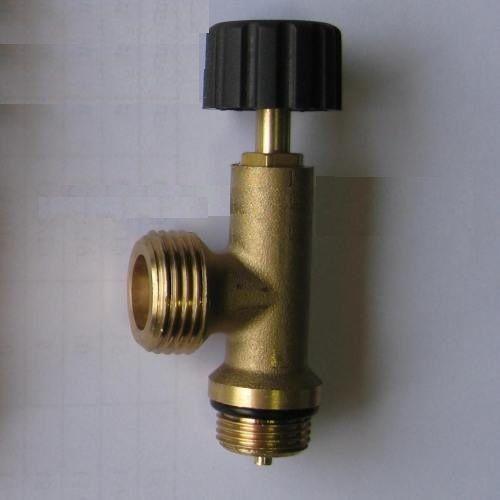 KOVA 1205 - ventil uzavírací odtlačný na 2kg láhev PB - závit výstup W21,8LH