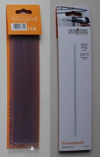 PVC tvrzené - drát svářecí 100g pro svařování plastů PVC tvrzené