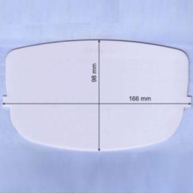 Speedglas 9000, 9001, 9002 vnější fólie čirá, oválná pro kuklu, 426000G 1017.00