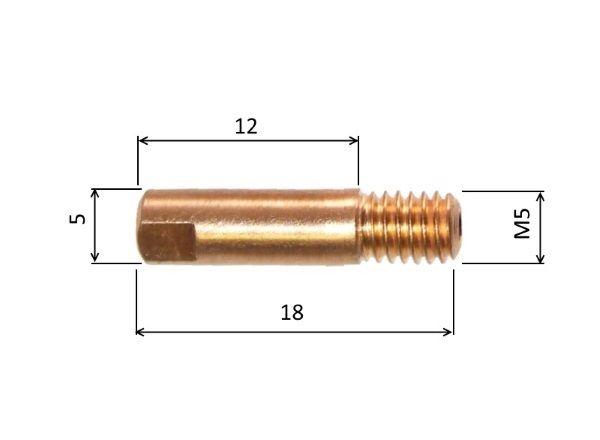TOPS 0,8mm průvlak, TR-MD0001-08