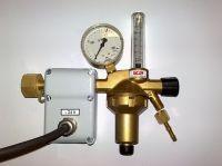 CO2 - redukční ventil GCE s vyhříváním 24V pro oxid uhličitý, 0783054