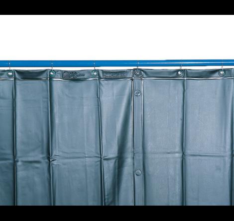 Kemper v. 3000 x š. 1300mm - svářečská zástěna tmavězelená, 70 100 107