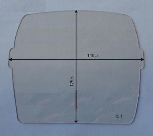 146,5 x 125,5 mm - Balder, BH3/GRAND, SQ 913 vnější oválná fólie čirá, 702071 1085.00