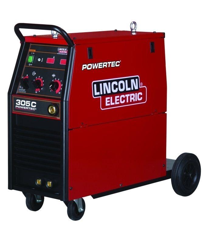 Lincoln Electric Powertec 305C čtyřkladka, bez příslušenství, svářečka MIG / MAG
