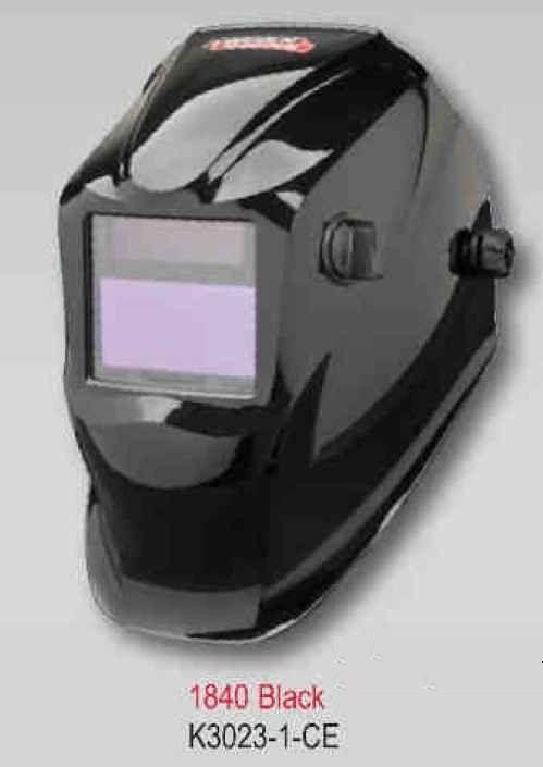 Lincoln Viking Helmet 1840 CE NS - Black (2 senzory) - samostmívací kukla svářečská