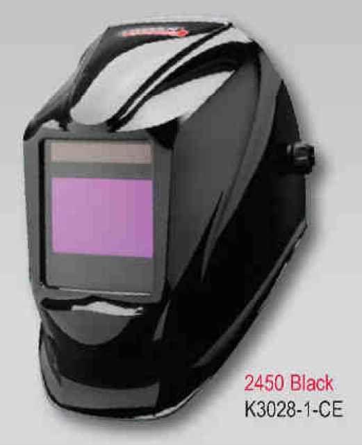 Lincoln Viking Helmet 2450 CE NS - Black (4 senzory) - samostmívací kukla svářečská