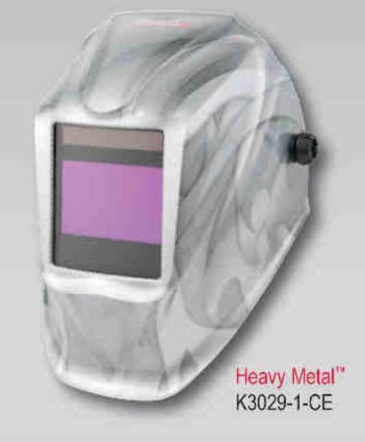 Lincoln Viking Helmet 2450 CE NS - HeavyMetal (4 senzory) - samostmívací kukla svářečská