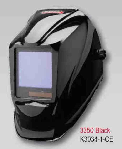 Lincoln Viking Helmet 3350 CE NS - Black - samostmívací kukla svářečská, K3034-1-CE