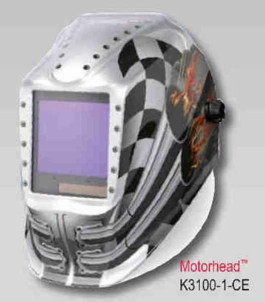 Lincoln Viking Helmet 3350 CE NS - Motorhead (4 senzory) - samostmívací kukla svářečská