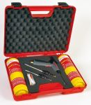 VULCANE EXPRESS h471 - pájecí souprava se třemi hořáky s piezo zapalováním v kufříku