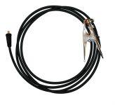 25mm2 / 4m / 35-50 - gumový zemnící kabel s konektorem 35-50