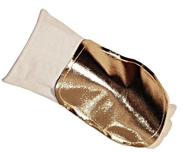 GL 127 - štít kožený na ruku potažený Al folií