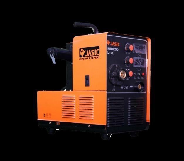 Jasic MIG250 J04 +hořák, zemnící kabel, svářečka MIG/MAG přenosná, SVA01-0J04