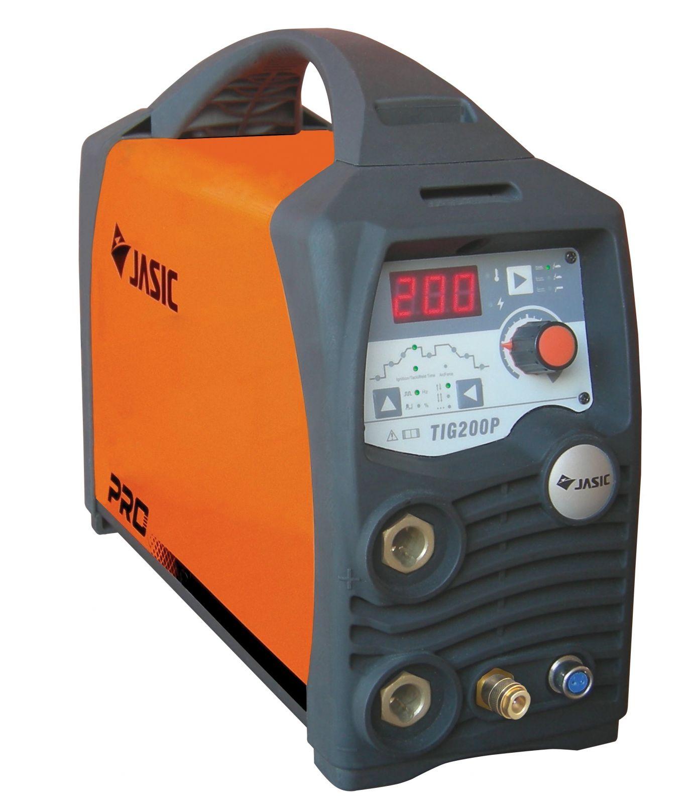 Jasic TIG 200P W212 - invertor svařecí TIG DC (HF + puls) + hořák TIG a zemnící kabel