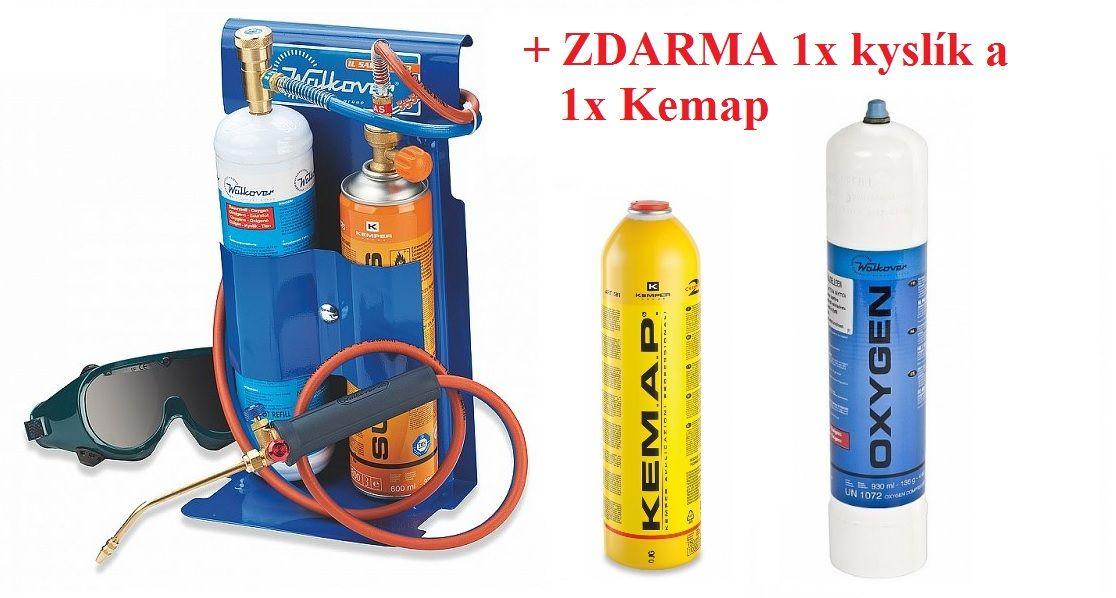 Kemper 555D 2.850°C - miniautogen včetně kartuše Supergas 600 s plynem