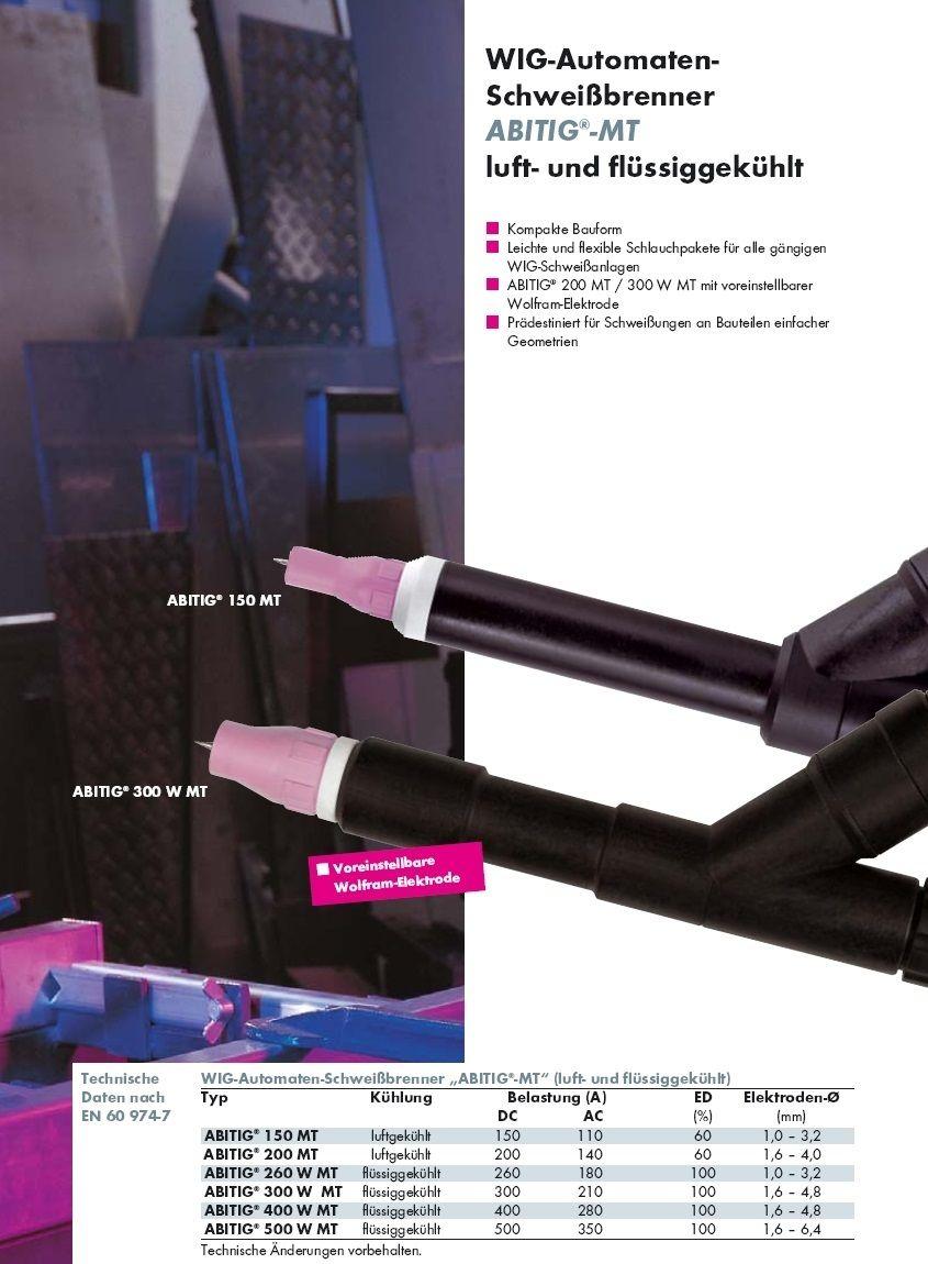 koaxiální kabel HiFlex k hořáku ABITIG 500W MT 4,00m, 150.0175