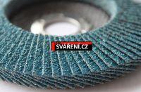 Lamelo 125mm/Z60 - kotouč lamelový zirkon (leg.ocel, nerez, litina, žáruvzdorné oceli)