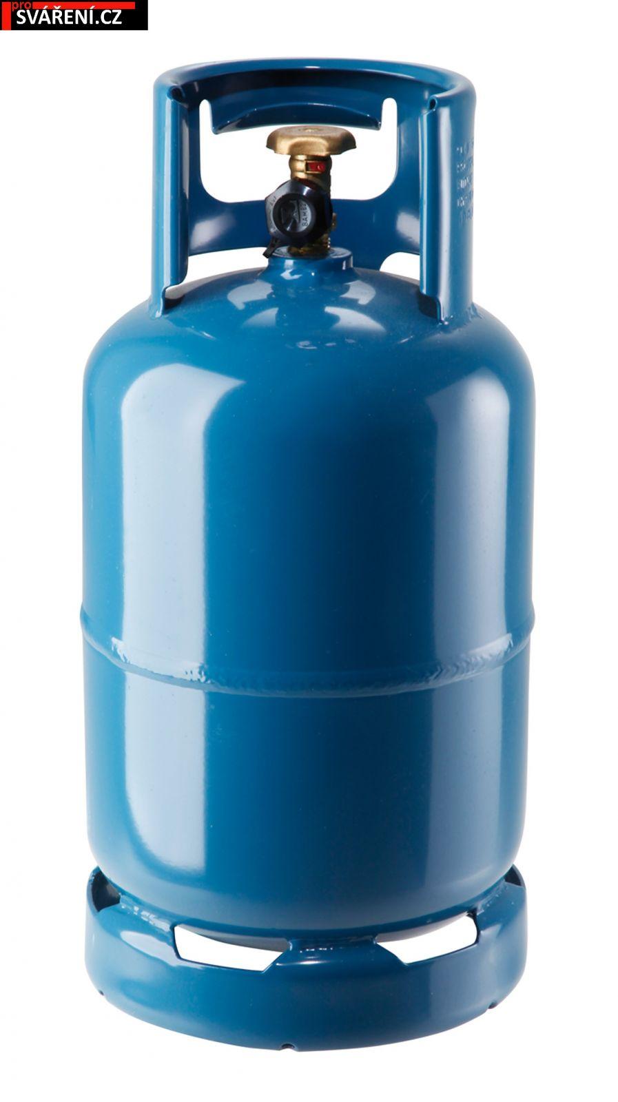 PB 10kg - prázdná tlaková láhev