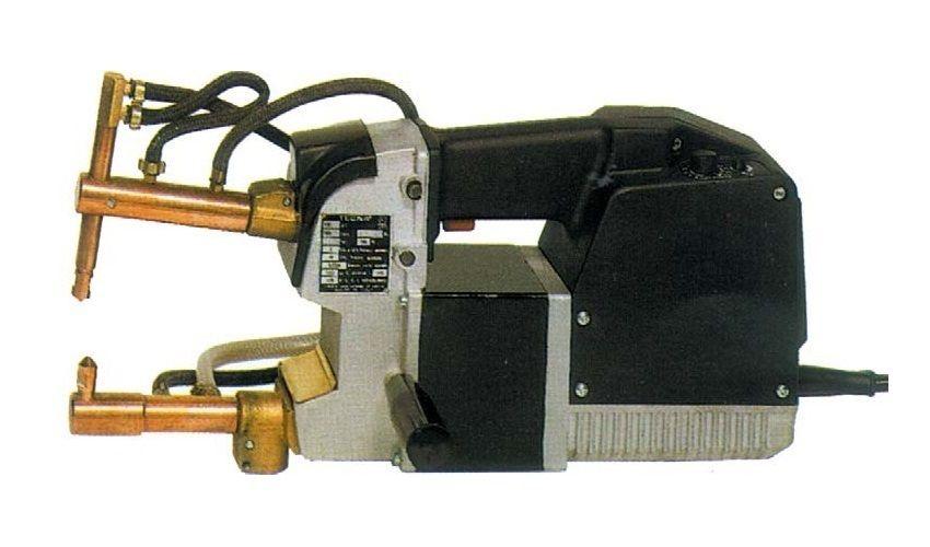 Tecna 7915P bez ramen - bodovka ruční s pulsem, pneumatickým stiskem a vodním chlazením