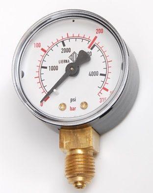 Vstupní manometr pro MINI redukční ventily série 50, MGN31518AR