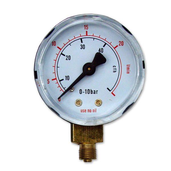 Výstupní manometr pro MINI redukční ventily
