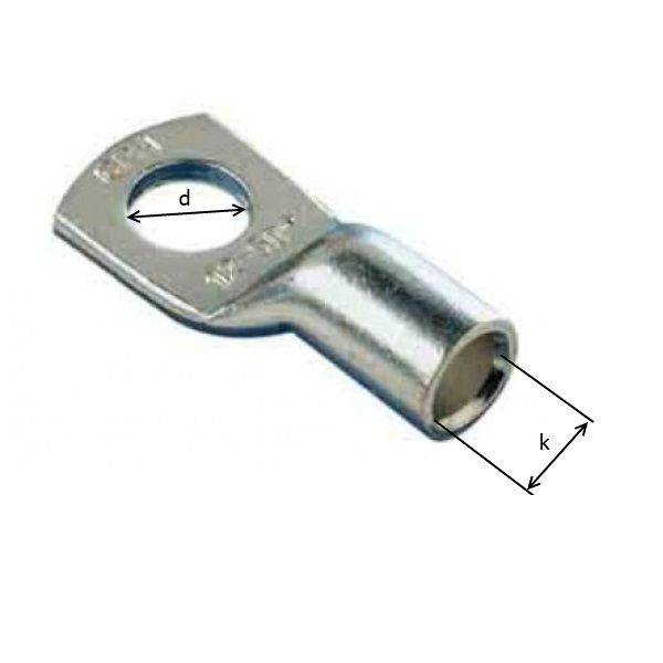 16mm2 / M12 - oko kabelové lisovací