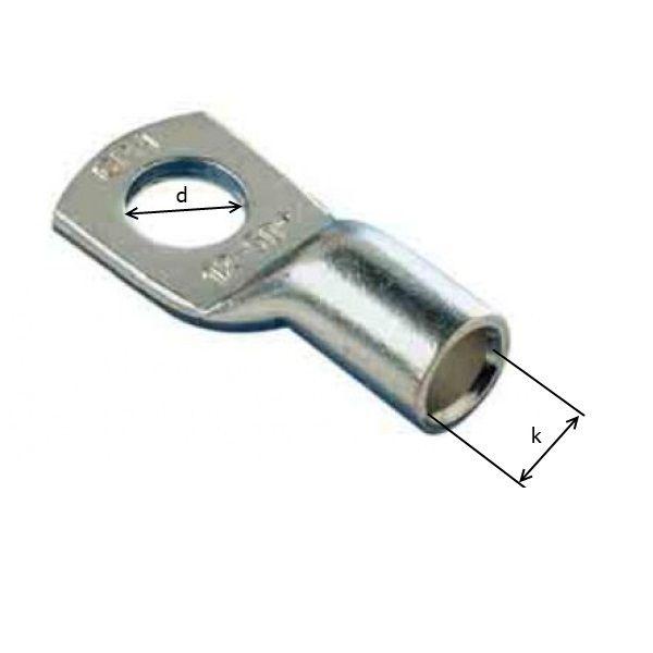 16mm2 / M8 - oko kabelové lisovací