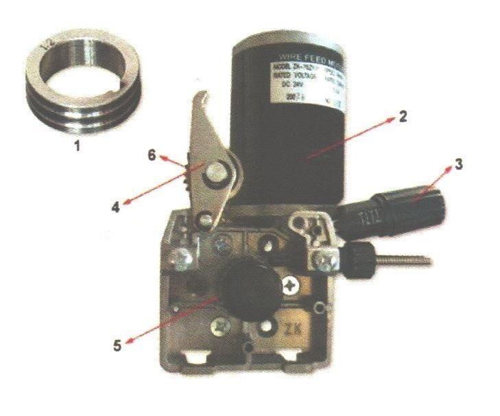 2RA 42V profi podavač drátu 2-kladka (posuv drátu pro svářečky MIG/MAG)