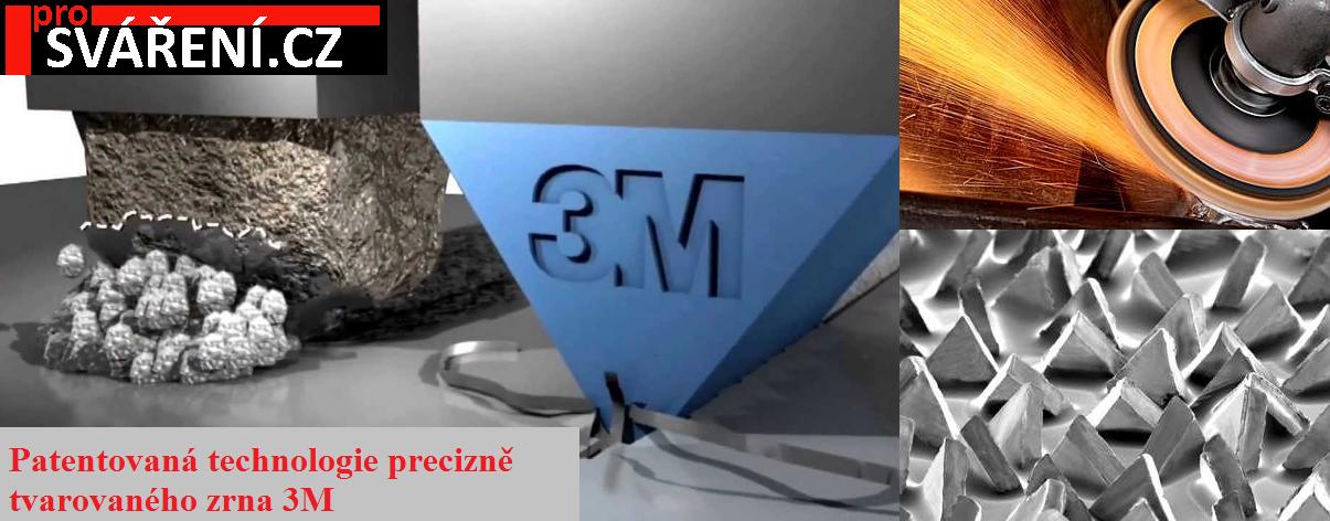 3M 230 x 2,5 x 0,22 Cubitron II T41 (10ks) - kotouč řezný plochý, ocel, nerez, litina