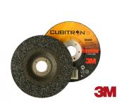 3M Cubitron II T27  125 x 7,0 x 22 - kotouč brusný  ocel, nerez, litina