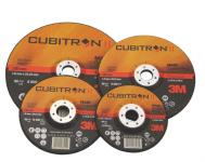 3M Cubitron II T41 125 x 1,0 x 0,22 plochý řezný kotouč, řeže ocel, nerez, litinu, hliník