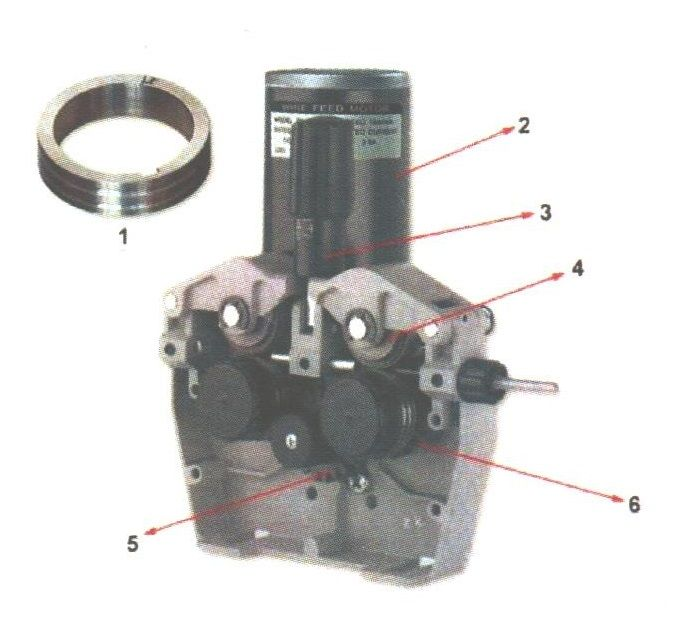 4R 24V profi podavač drátu 4-kladka (posuv drátu pro svářečky MIG/MAG)