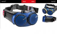 CleanAir AerGO filtrační jednotka + opasek, nabíječka, akumulátor, 2 x filtr, 300000PA