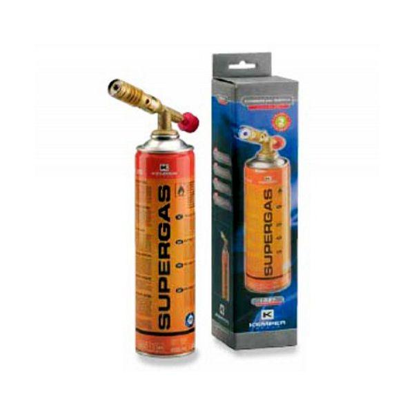 Kemper 1047 hořák + 1 kartuše plynu Supergas 600 ml