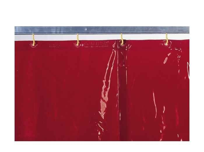 Kemper zvláštní rozměr červené svářečské zástěny cena za 1m2, 70 100 421
