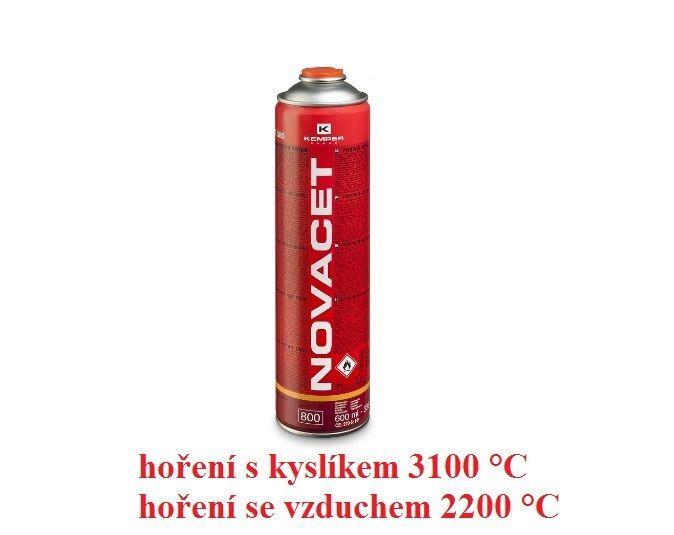 NOVACET 330g / 600ml kartuše pro miniautogeny KEMPER
