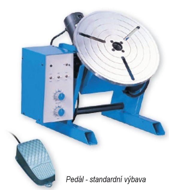 PT101D (0,55 - 16 rpm) + řídící elektronika CB001 - rotační polohovadlo pro svařování