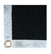 Svářečská deka 750°C/950°C 1 x 25m, nehořlavá krycí látka v roli, černá
