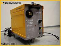 VARMIG 1600C + hořák + zemnící kabel, svářečka MIG/MAG na cívky 5kg