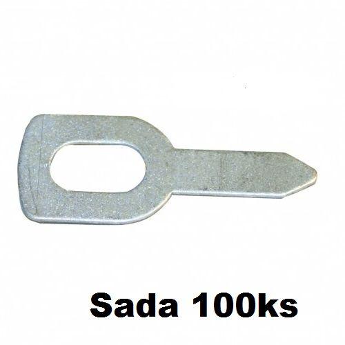 Vytahovací oko rovné /bal. 100ks/, 050648