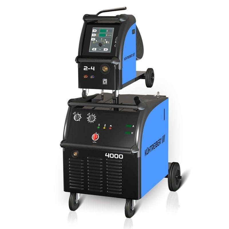 Kühtreiber KIT 4000WS Processor /podavač 4kladka/ - svařovací poloautomat MIG MAG