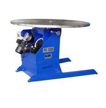 PO 1000 S - rotační polohovadlo pro svařování, 0,2-2ot./min, (max. 1000kg)