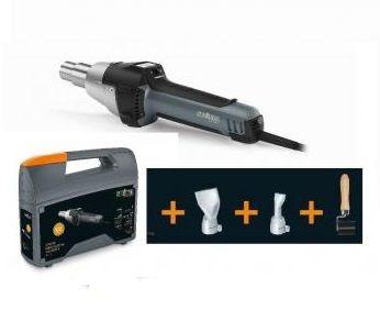 Steinel HG2620E LCD SET STŘECHY - pistole horkovzdušná 2300W pro svařování plastů