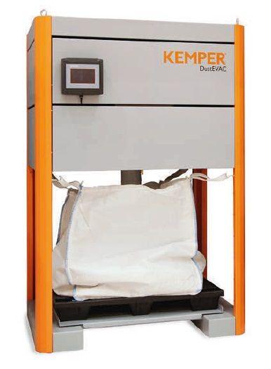 Kemper DustEvac (pro 2 filtrační části) - systém vynášení prachu
