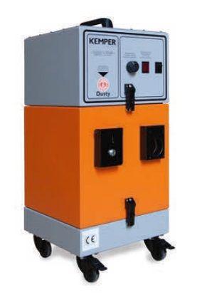 Kemper Dusty - vysokotlaké odsávácí zařízení s čistitelným filtrem