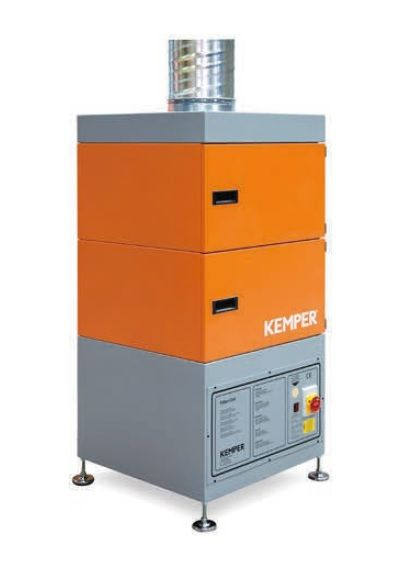 Kemper Filter-Cell s Al předfiltrem - kompaktní provedení, stacionární odsávací zařízení